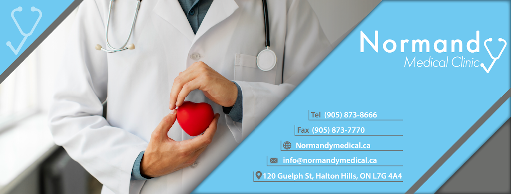 Normandy Medical Clinic | health | 120 Guelph St, Georgetown, ON L7G 4A4, Canada | 9058738666 OR +1 905-873-8666