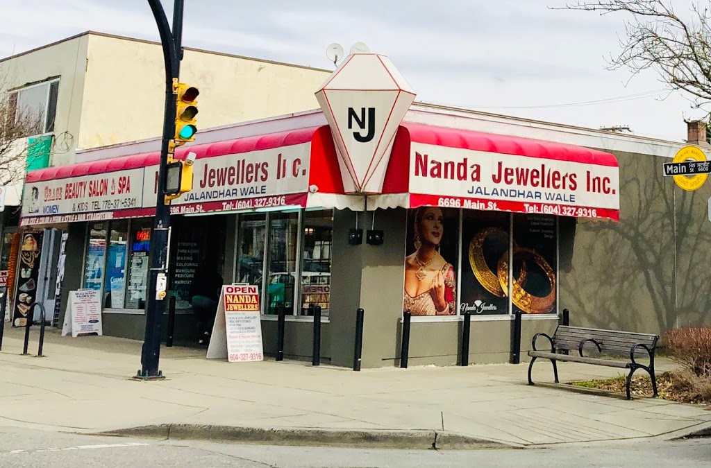 Nanda Jewellers Inc | jewelry store | 6696 Main St, Vancouver, BC V5X 3H2, Canada | 6043279316 OR +1 604-327-9316