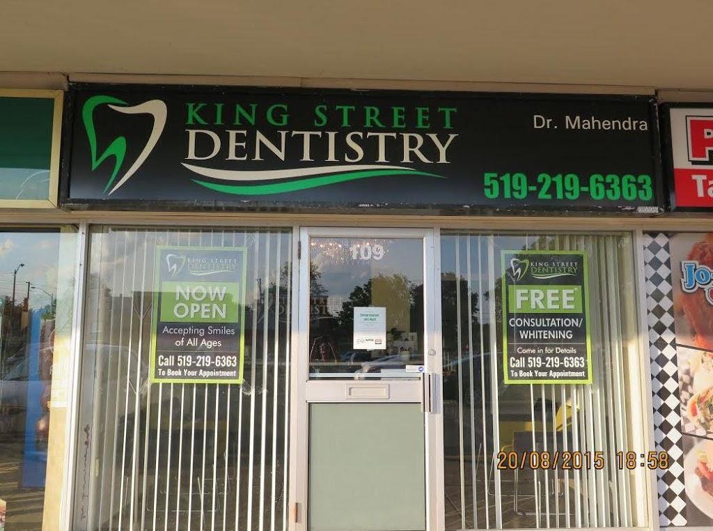 King Street Dentistry   dentist   1515 King St E #109, Cambridge, ON N3H 3R6, Canada   5192196363 OR +1 519-219-6363