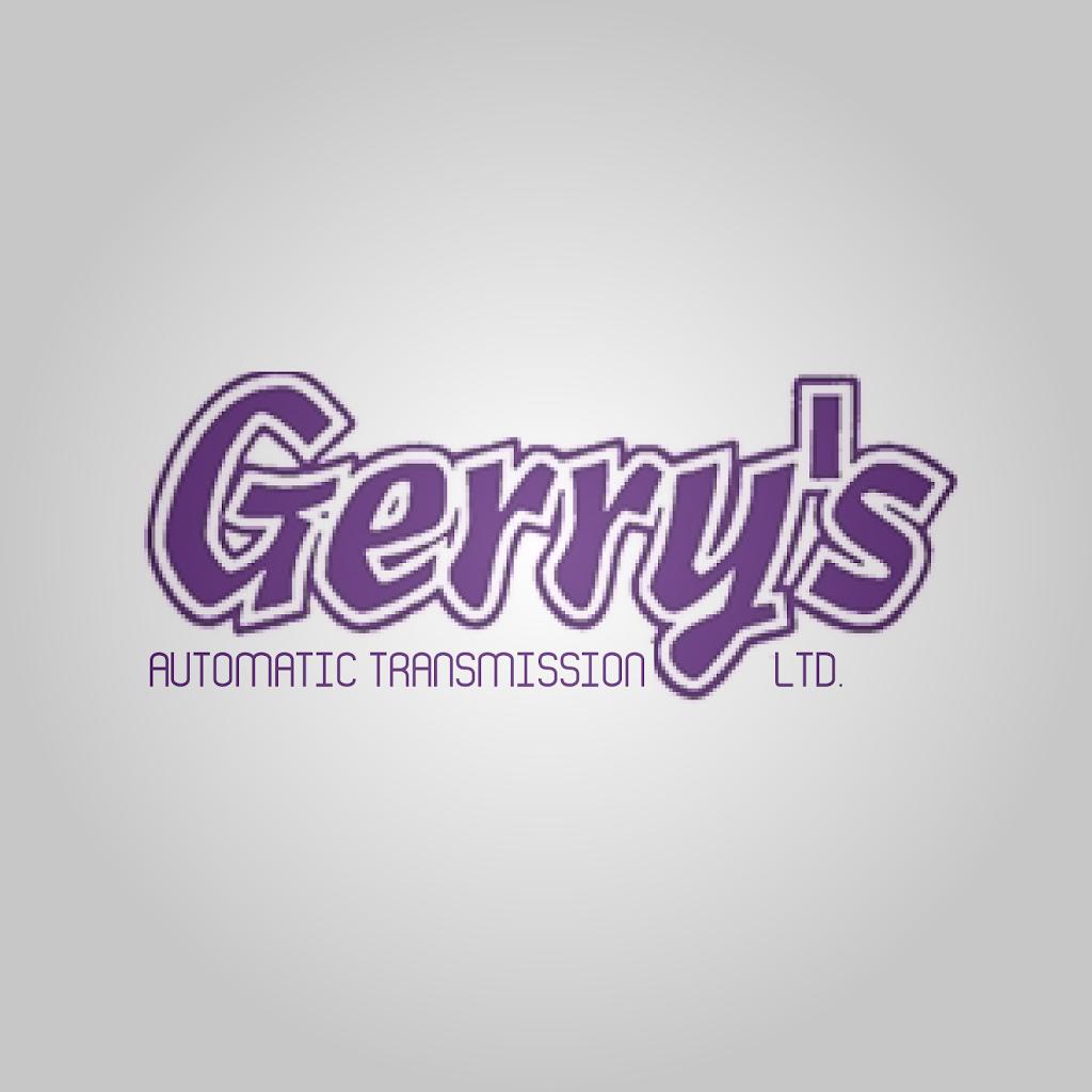 Gerrys Automatic Transmission Ltd | car repair | 1120 Albert St, Regina, SK S4R 2R1, Canada | 3065255877 OR +1 306-525-5877