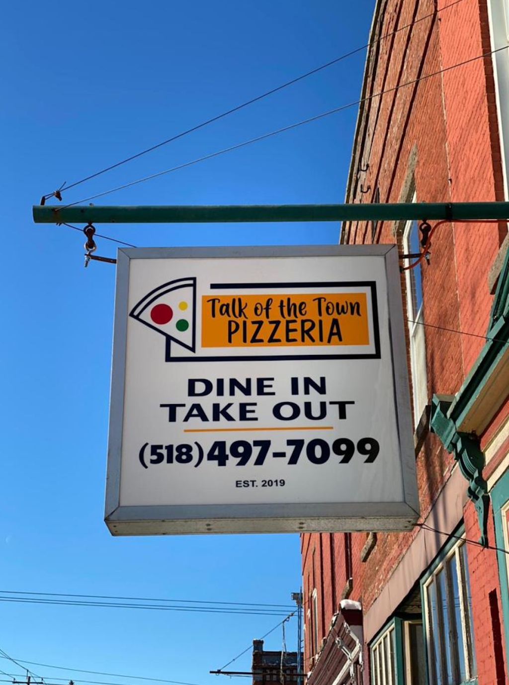 Talk of the Town Pizzeria | restaurant | 171 E Main St, Chateaugay, NY 12920, United States | 5184977099 OR +1 518-497-7099