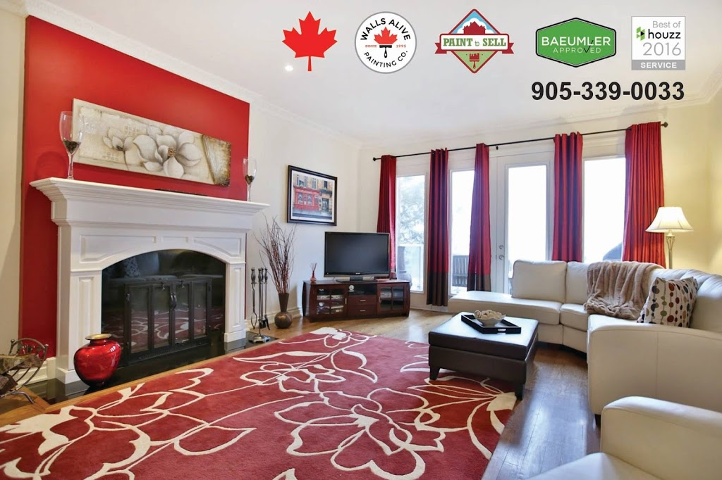 Walls Alive Painting Group | painter | 1450 Bishops Gate #210, Oakville, ON L6M 4N1, Canada | 9053390033 OR +1 905-339-0033