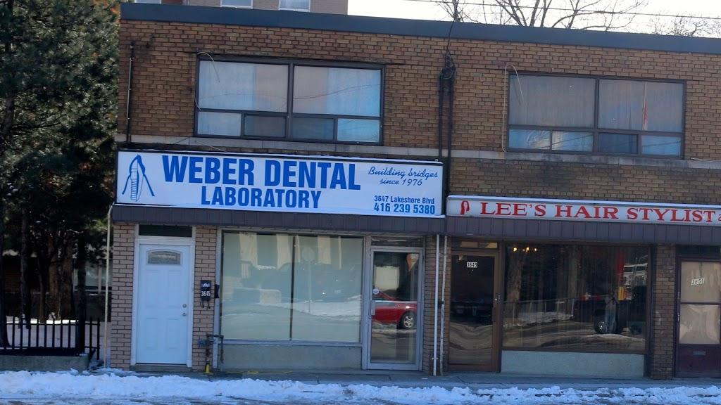 Weber Dental Laboratory | dentist | 3647 Lake Shore Blvd W, Etobicoke, ON M8W 1P6, Canada | 4162395380 OR +1 416-239-5380