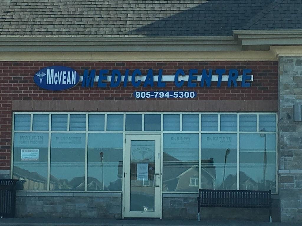 McVean Medical Centre | doctor | 1975 Cottrelle Blvd, Brampton, ON L6P 2Z8, Canada | 9057945300 OR +1 905-794-5300