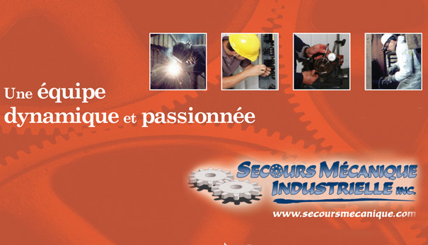 Secours Mécanique Industrielle   car repair   2590 Chemin Bellerive, Carignan, QC J3L 4E9, Canada   4507422003 OR +1 450-742-2003