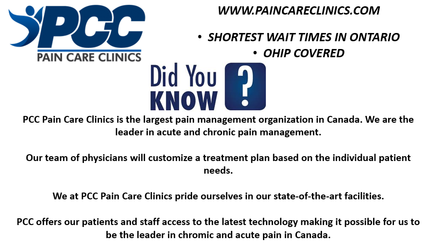 Pain Care Clinics | doctor | 6981 Millcreek Dr #2, Mississauga, ON L5N 6B8, Canada | 2897247246 OR +1 289-724-7246