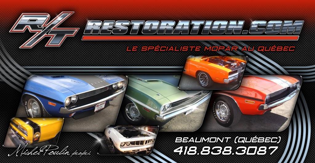 R T Restoration Inc   car repair   317 Route du Fleuve, Beaumont, QC G0R 1C0, Canada   4188383087 OR +1 418-838-3087