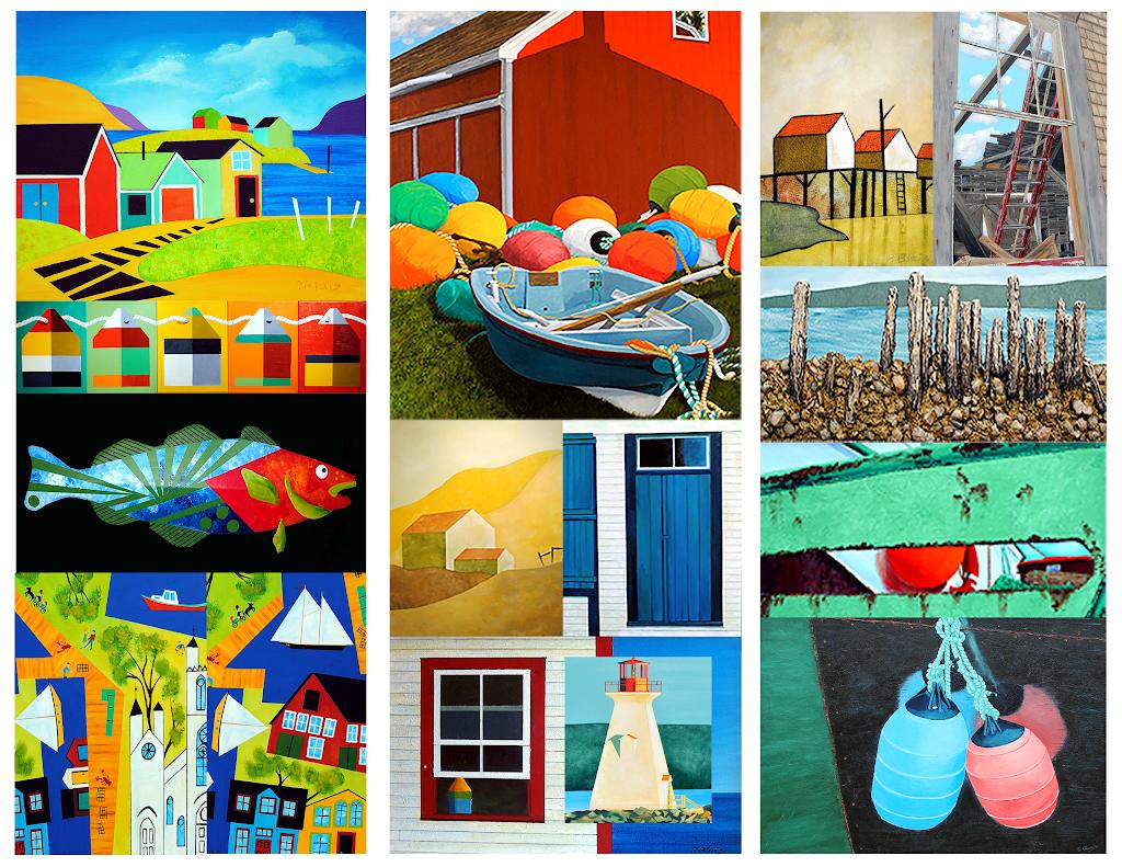 Maritime Painted Saltbox   art gallery   265 Petite Riviere Rd, Petite Rivière Bridge, NS B4V 8W9, Canada   9026931544 OR +1 902-693-1544