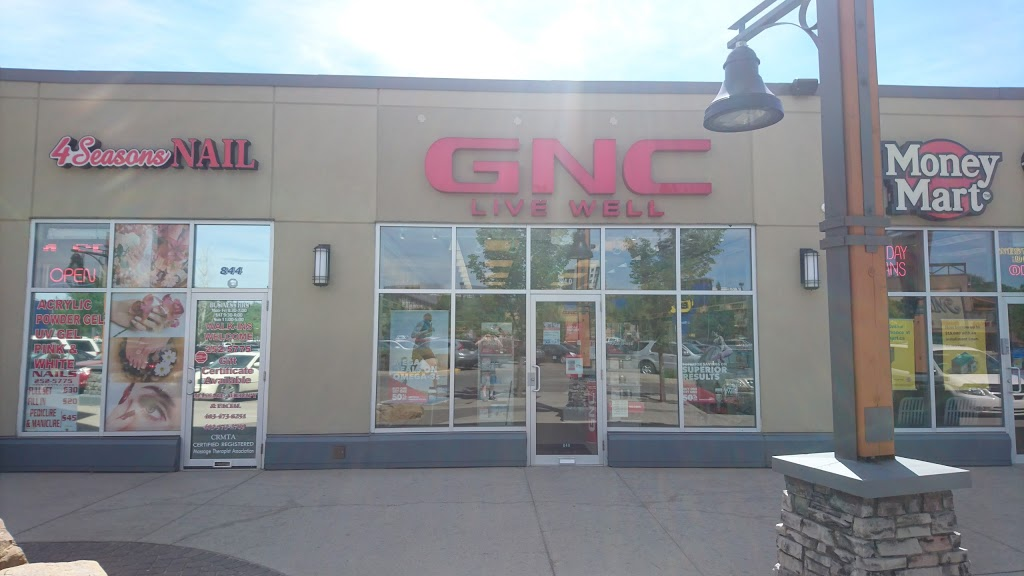 GNC - General Nutrition Centres   health   8180 11th St SE, Unit #840, Deerfoot Meadows, Calgary, AB T2H 3B5, Canada   4032522068 OR +1 403-252-2068