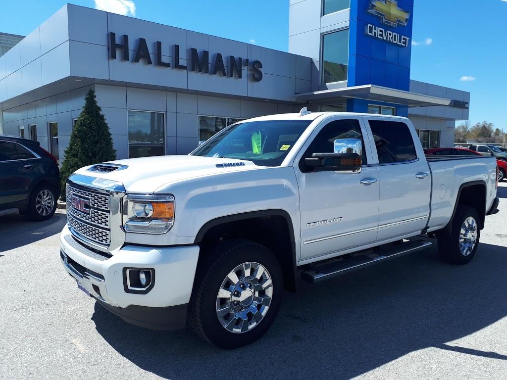 Hallman Chevrolet Cadillac Buick GMC | car dealer | 190 7th Ave, Hanover, ON N4N 2H1, Canada | 5193643340 OR +1 519-364-3340