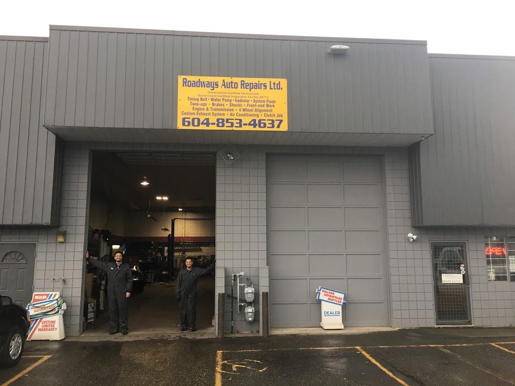 Roadways Auto Repair | car repair | 33733 King Rd, Abbotsford, BC V2S 7M9, Canada | 6048534637 OR +1 604-853-4637