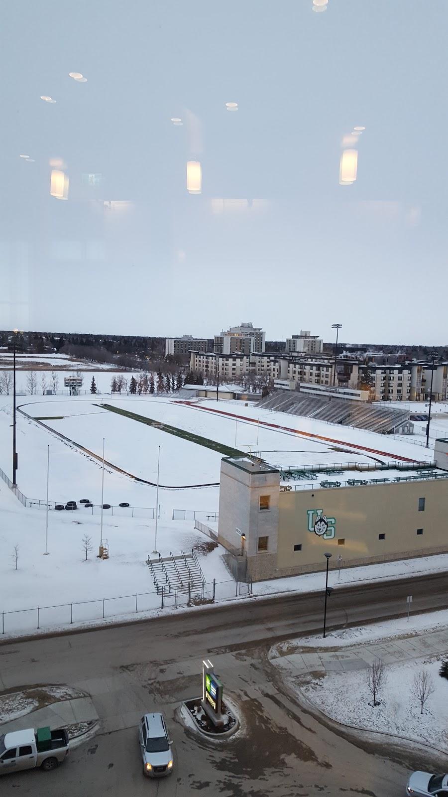 Griffiths Stadium | stadium | 48 Stadium Crescent, Saskatoon, SK S7N 1M3, Canada | 3069664343 OR +1 306-966-4343