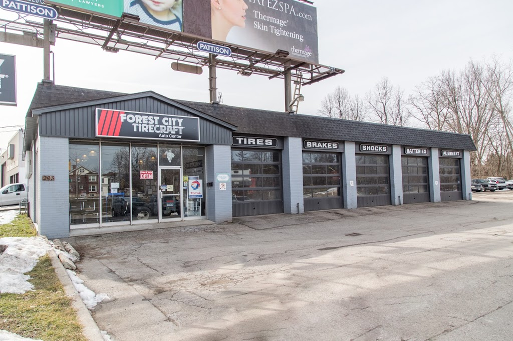 Forest City Tirecraft London | car repair | 203 Wharncliffe Rd S, London, ON N6J 2K8, Canada | 5194388319 OR +1 519-438-8319