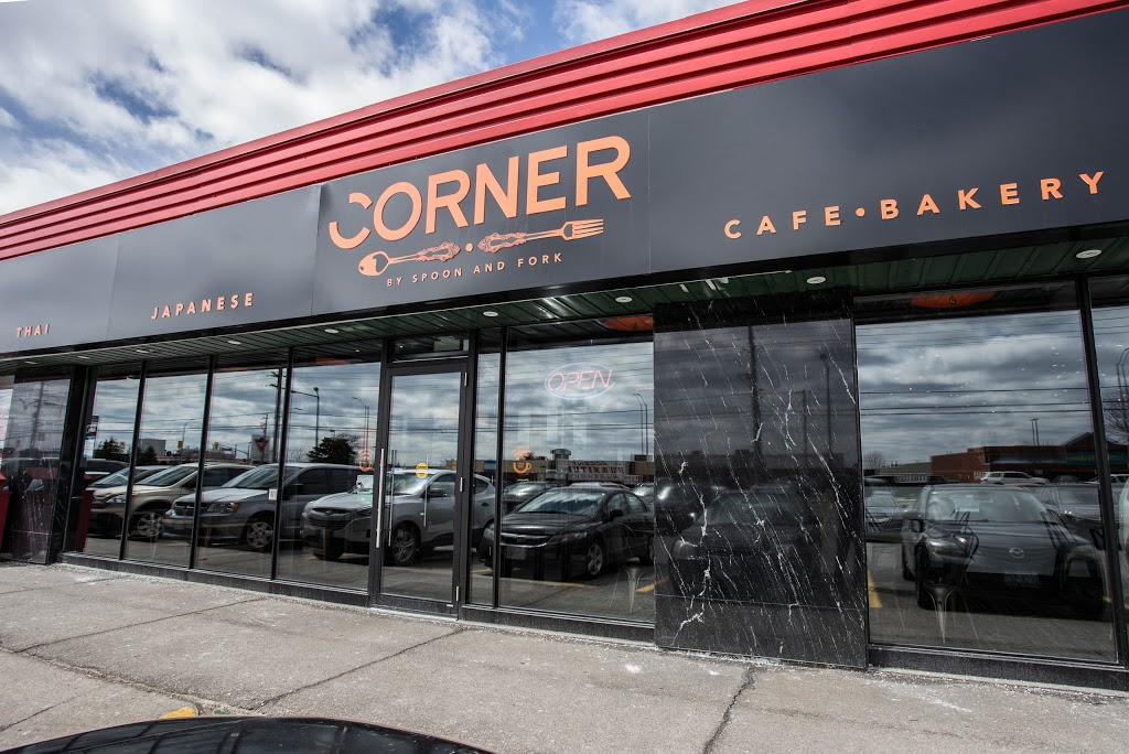 Corner featuring Mihito Sushi Laboratory | restaurant | 1225 Dundas St E #14B, Mississauga, ON L4Y 2C5, Canada | 9058031100 OR +1 905-803-1100