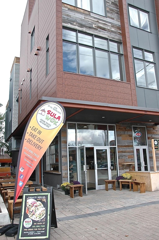 Sula Wok | restaurant | 184 Main St, Ottawa, ON K1S 1C2, Canada | 6138907852 OR +1 613-890-7852