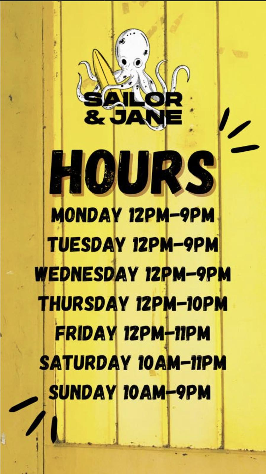 Sailor and Jane Eatery | restaurant | 1 Jane St, Miramichi, NB E1V 2S6, Canada | 5066220354 OR +1 506-622-0354