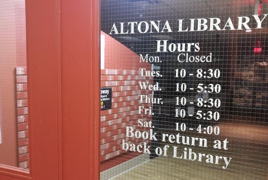 South Central Regional Library - Altona Branch   library   125 Centre Ave #113, Altona, MB R0G 0B0, Canada   2043241503 OR +1 204-324-1503