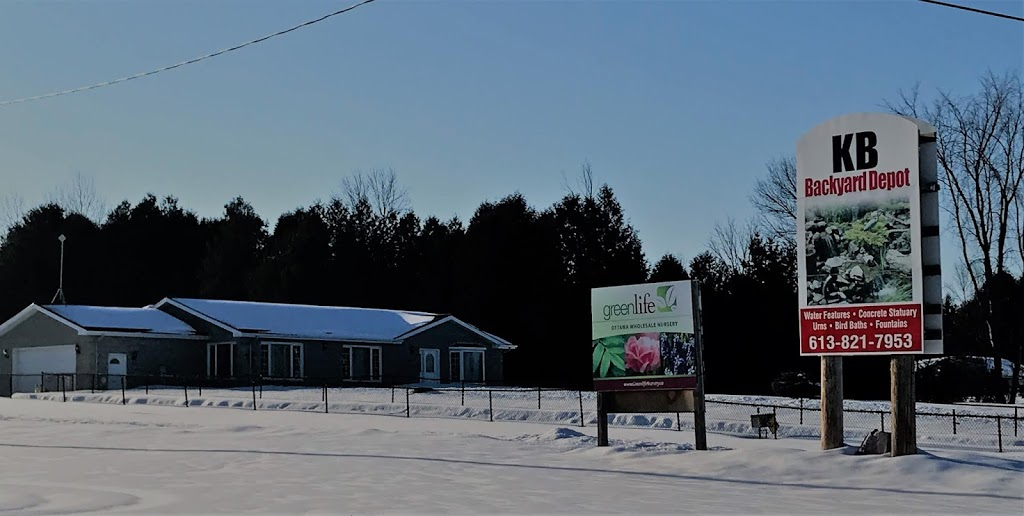 KB Backyard Depot | store | 1770 Manotick Station Rd, Greely, ON K4P 1K4, Canada | 6138217953 OR +1 613-821-7953