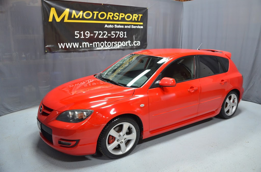 M MotorSport | car dealer | 265 Breithaupt St #3, Kitchener, ON N2H 5H3, Canada | 5197225781 OR +1 519-722-5781