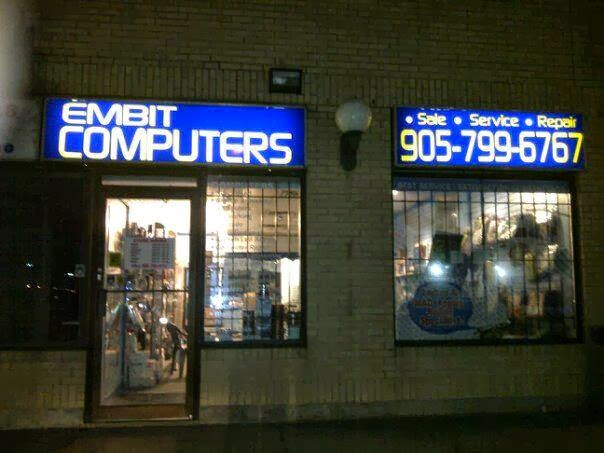 Embit Computers | electronics store | 1650 Williams Pkwy #4, Brampton, ON L6S 5R7, Canada | 9057996767 OR +1 905-799-6767
