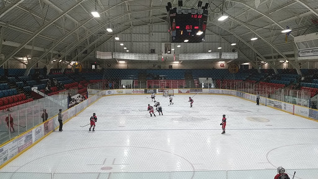 William Allman Memorial Arena | stadium | 15 Morenz Dr, Stratford, ON N5A 6W5, Canada | 5192712161 OR +1 519-271-2161