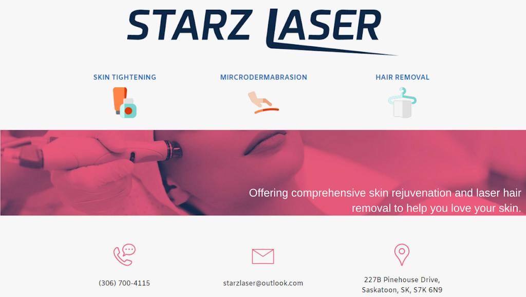 Starz Laser | hair care | 227 B Pinehouse Dr, Saskatoon, SK S7K 6N9, Canada | 3067004115 OR +1 306-700-4115