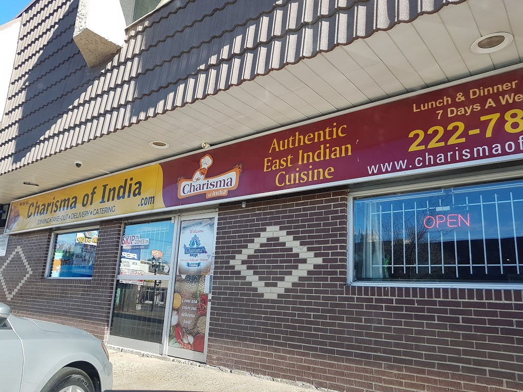 Charisma of India | restaurant | 83 Sherbrook St, Winnipeg, MB R3G 1C3, Canada | 2042227878 OR +1 204-222-7878