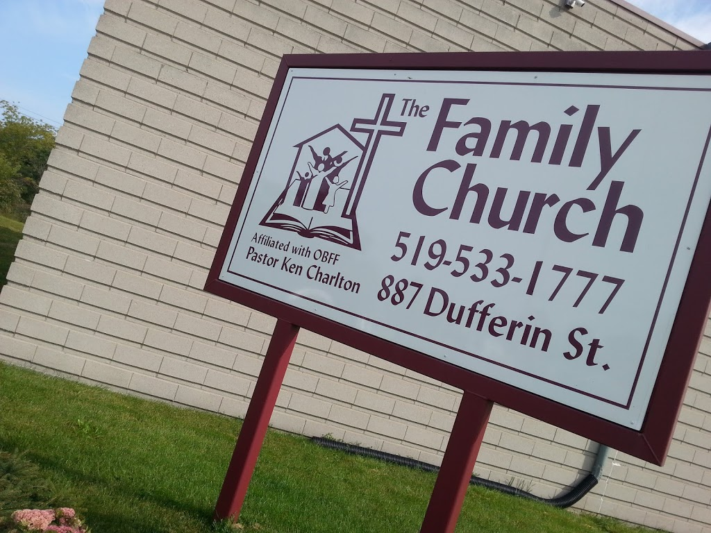 The Family Church | church | 887 Dufferin St, Woodstock, ON N4S 1Y8, Canada | 5195331777 OR +1 519-533-1777