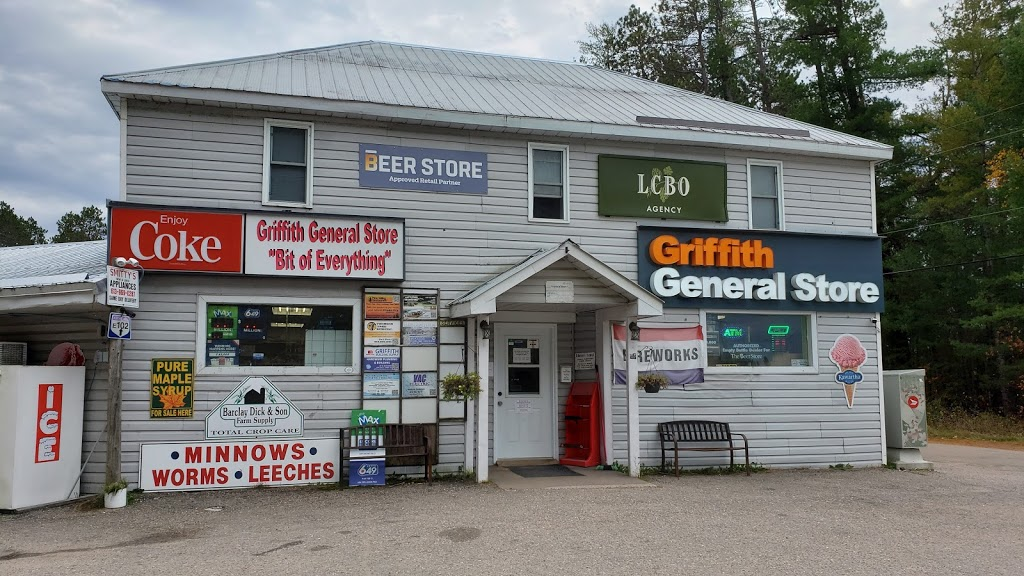 Griffith General Store Ltd. | store | 25832 Hwy 41, Griffith, ON K0J, Canada | 6133331553 OR +1 613-333-1553