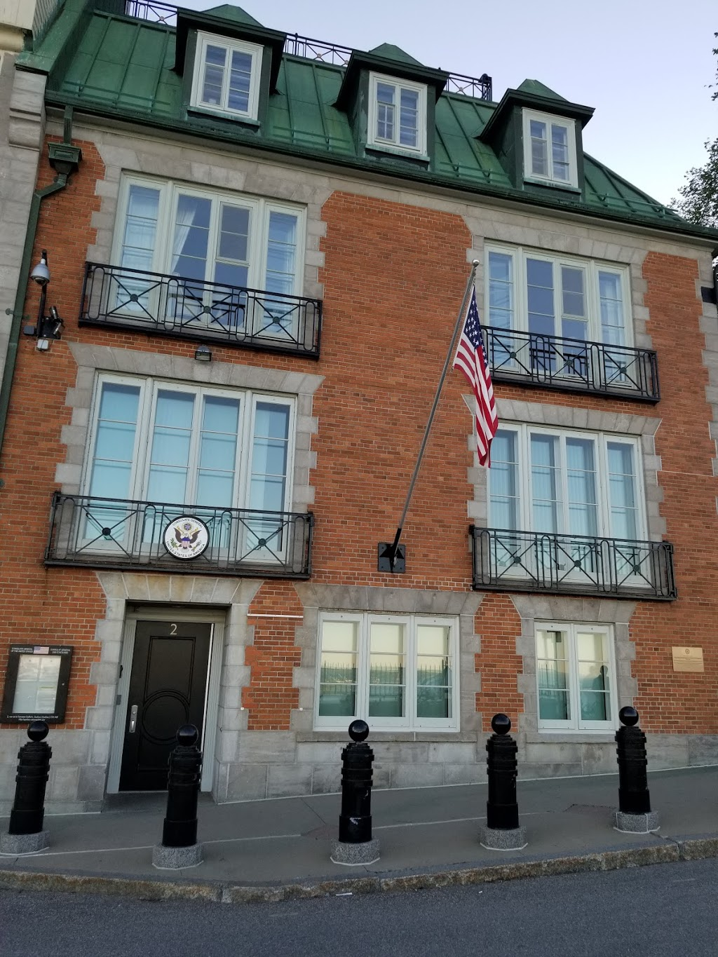 Consulate General of the United States of America | embassy | 2 Place Terrasse Dufferin, Québec, QC G1R 4T9, Canada | 4186922095 OR +1 418-692-2095