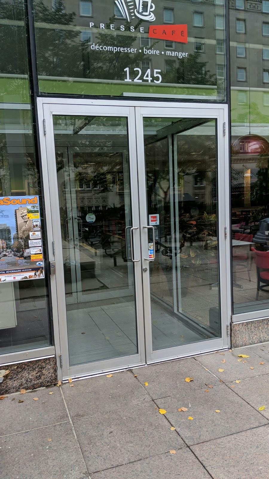 Presse Café | cafe | 1245 Rue Sherbrooke Ouest, Montréal, QC H3G 1G2, Canada | 5145077091 OR +1 514-507-7091