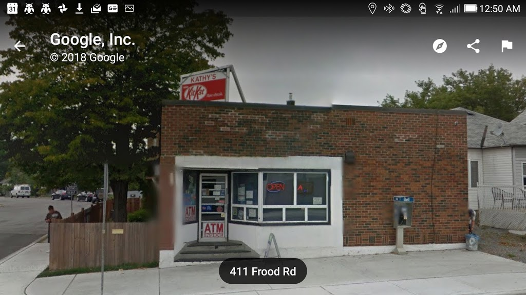 Kathys Confectionary   convenience store   411 Frood Rd, Sudbury, ON P3C 4Z9, Canada