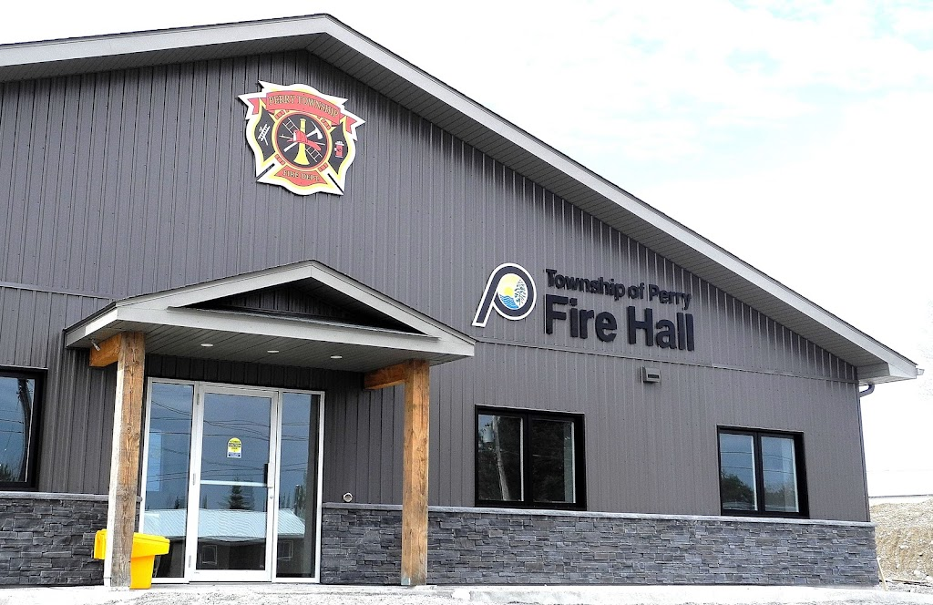 Township of Perry Fire Hall   fire station   64 Old Government Rd, Emsdale, ON P0A 1J0, Canada   7056365311 OR +1 705-636-5311