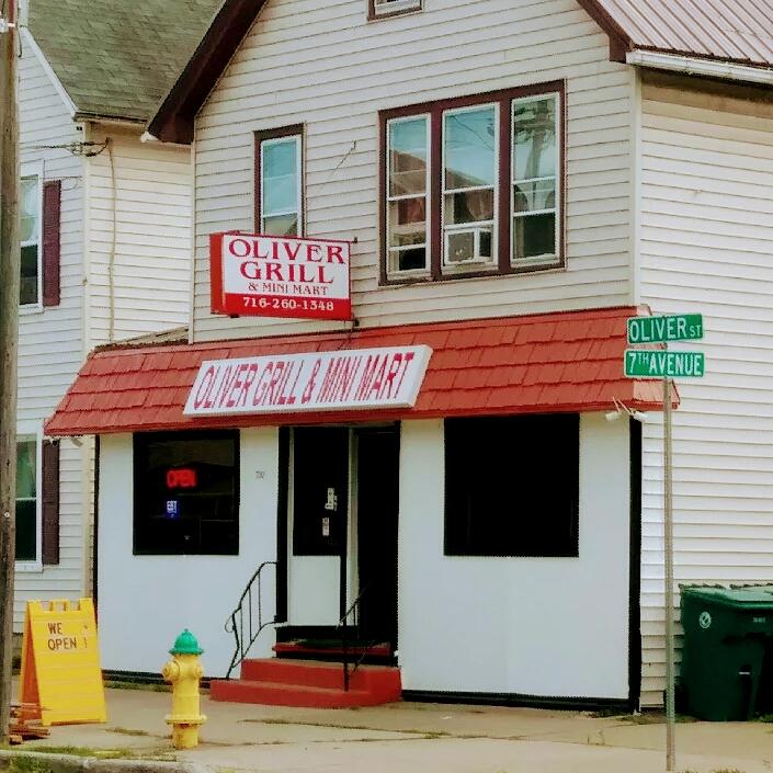 OLIVER GRILL & MINI MART   store   Oliver St, North Tonawanda, NY 14120, USA   7162601348 OR +1 716-260-1348