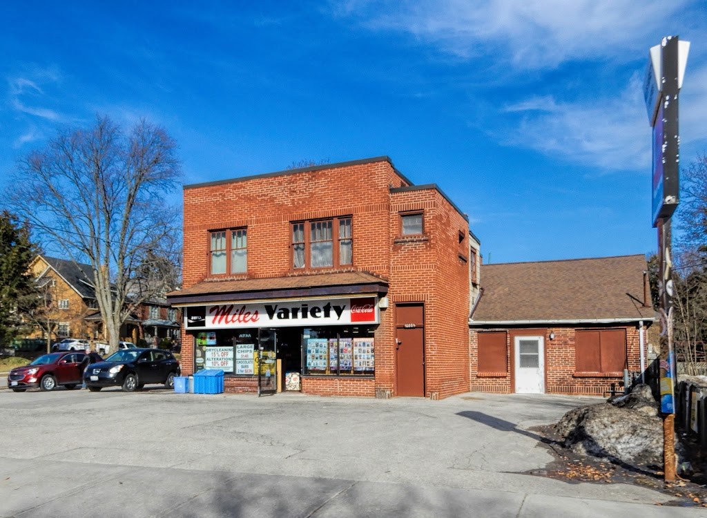 Miles Variety Store | store | 1080 Richmond St, London, ON N6A 3J9, Canada | 5194324904 OR +1 519-432-4904