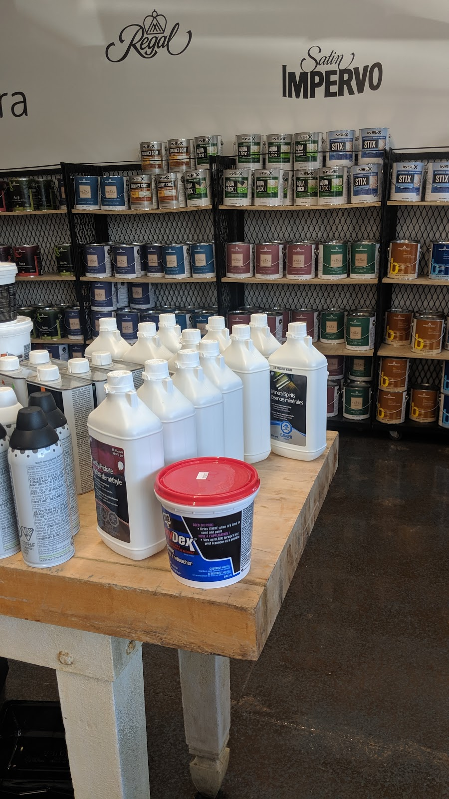 Creek Road Paints | home goods store | 1573 Four Mile Creek Rd, Niagara-on-the-Lake, ON L0S 1J0, Canada | 9054682412 OR +1 905-468-2412