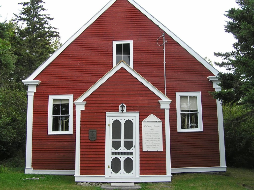 Old Meeting House | museum | 162 Long Cove Rd, Port Medway, NS B0J 2T0, Canada | 9026772661 OR +1 902-677-2661