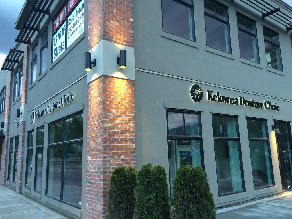 Kelowna Denture Clinic | health | 102, 1824 Gordon Dr, Kelowna, BC V1Y 6A8, Canada | 2364202581 OR +1 236-420-2581