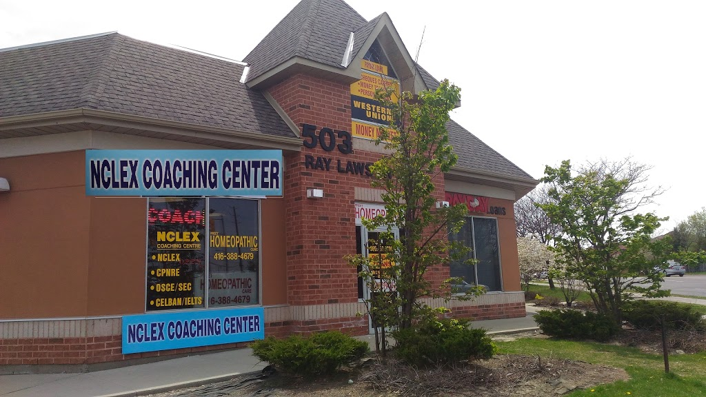 NCLEX COACHING CENTRE - School | 503 Ray Lawson Blvd, Brampton, ON