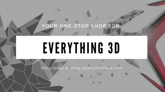 Objex Unlimited Inc. | Torontos 3D Printing, Scanning & Service | store | 36 Fieldway Rd, Etobicoke, ON M8Z 3L2, Canada | 4162337165 OR +1 416-233-7165
