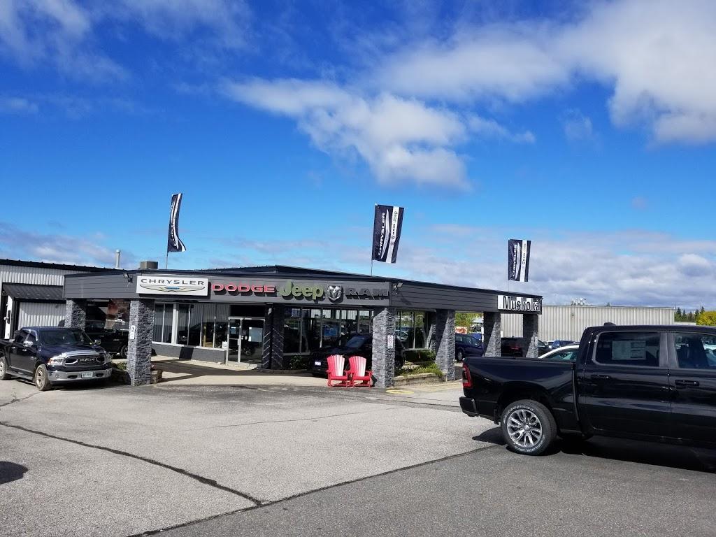 Muskoka Chrysler Sales | car dealer | 380 Ecclestone Dr, Bracebridge, ON P1L 1V4, Canada | 7056458763 OR +1 705-645-8763