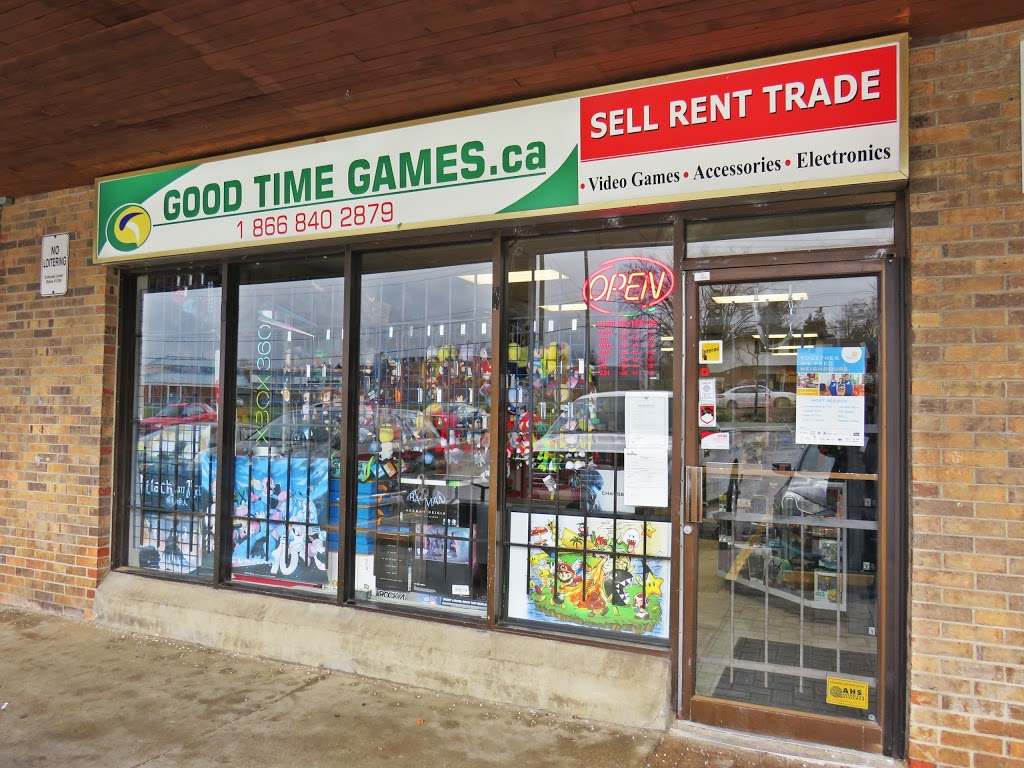 Good Time Games | electronics store | 315 Lincoln Rd #8, Waterloo, ON N2J 4H7, Canada | 2264447649 OR +1 226-444-7649