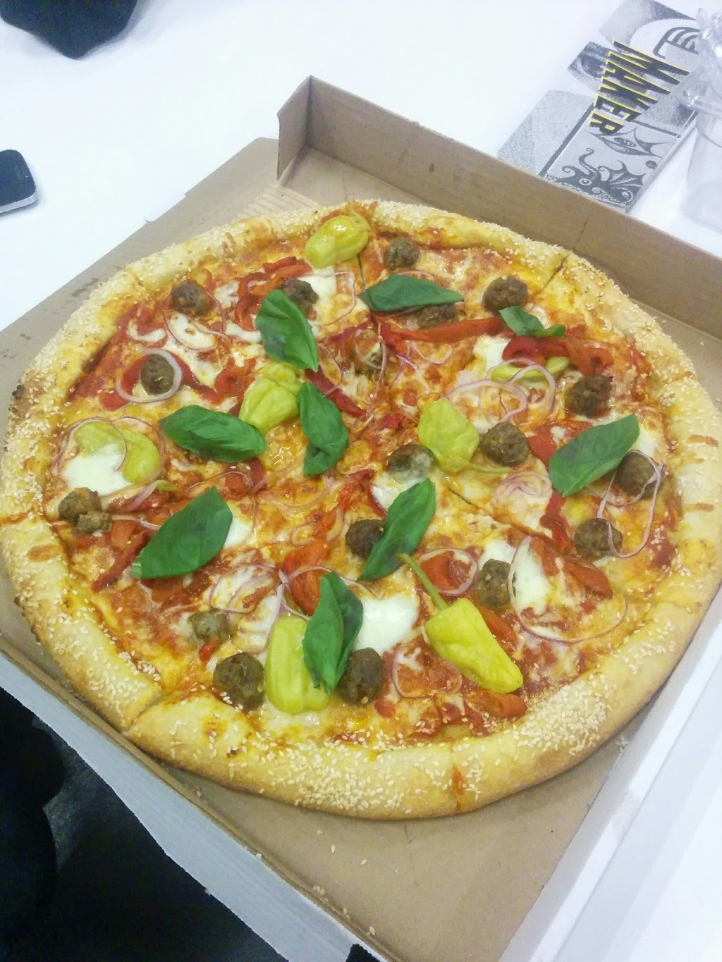 Maker Pizza | restaurant | 59 Cameron St, Toronto, ON M5T 2H1, Canada | 4167822000 OR +1 416-782-2000