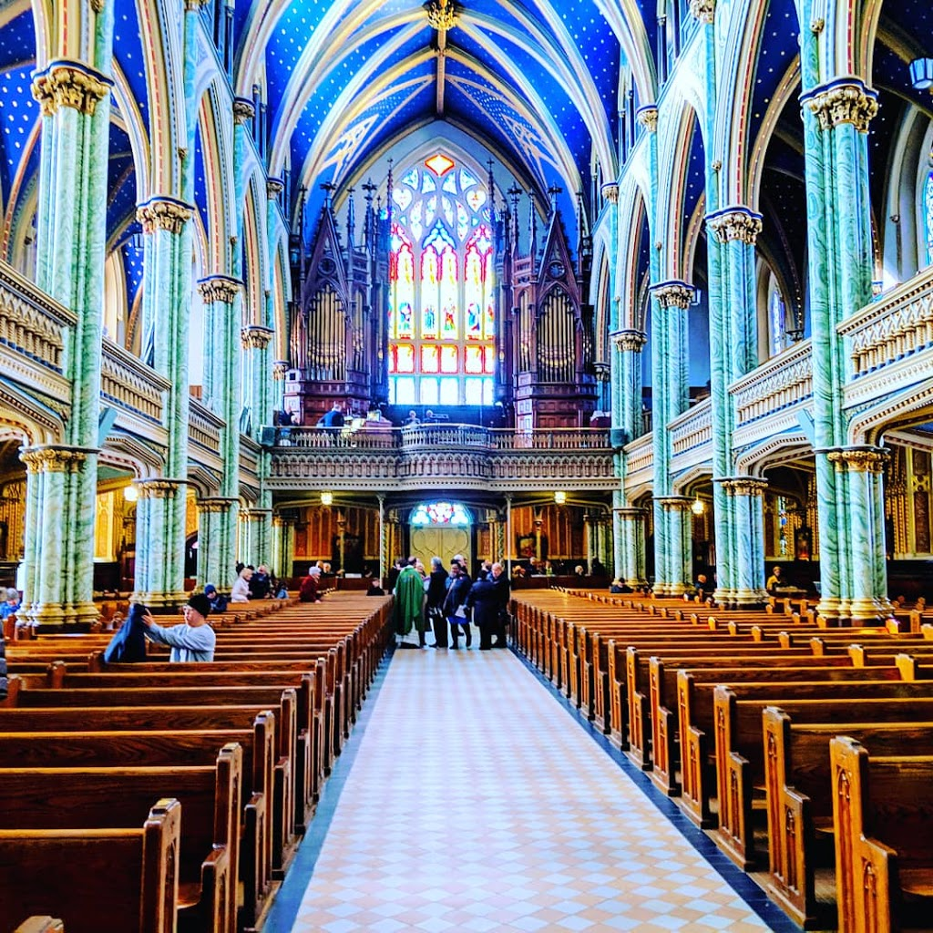 Notre-Dame Cathedral | church | 56 Guigues Ave, Ottawa, ON K1N 5H5, Canada | 6132417496 OR +1 613-241-7496