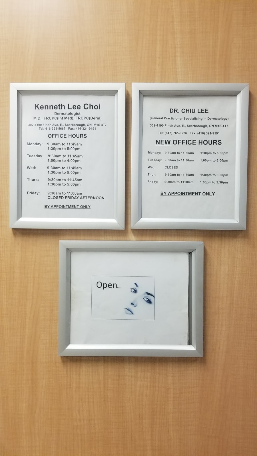 DR. CHIU LEE | doctor | 4190 Finch Ave E #302, Scarborough, ON M1S 4T7, Canada | 6477659226 OR +1 647-765-9226