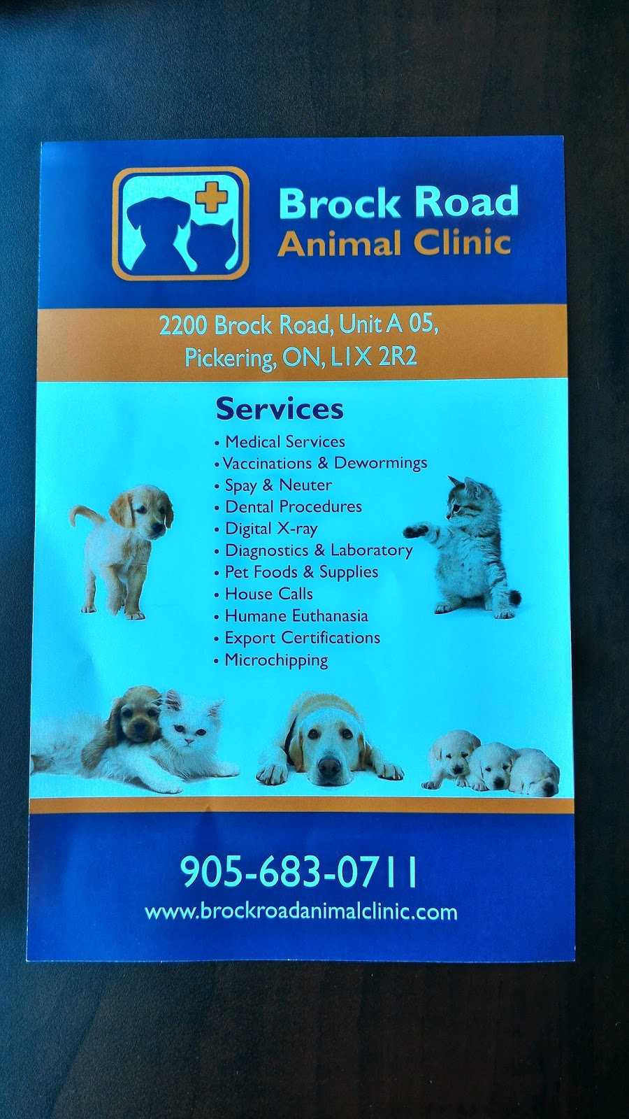 Brock Road Animal Clinic | veterinary care | 2200 Brock Rd, Pickering, ON L1X 2R2, Canada | 9056830711 OR +1 905-683-0711