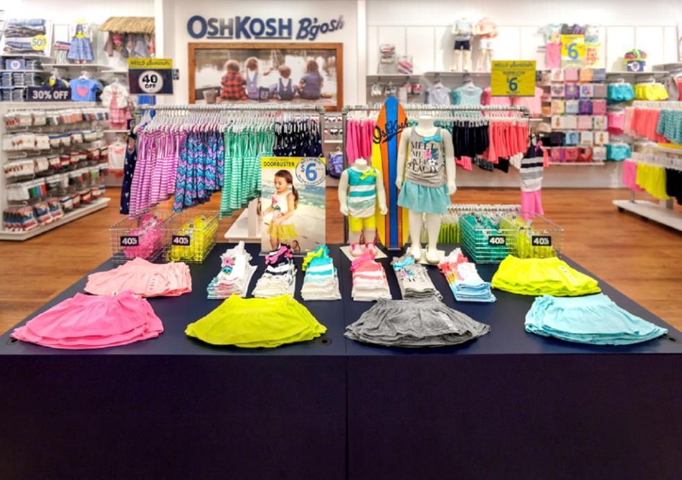 OshKosh Bgosh | clothing store | 1718 Preston Ave N, Saskatoon, SK S7N 4V2, Canada | 3069550216 OR +1 306-955-0216