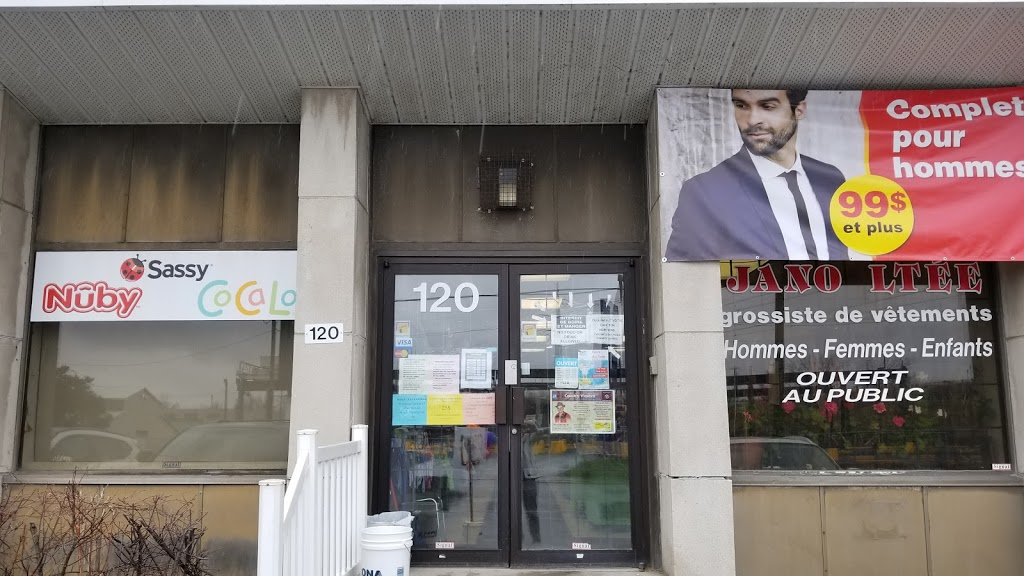 Chez Jano Clothing Boutique Ltd | clothing store | 120 Boulevard Saint-Joseph, Lachine, QC H8S 2L3, Canada | 5146371116 OR +1 514-637-1116