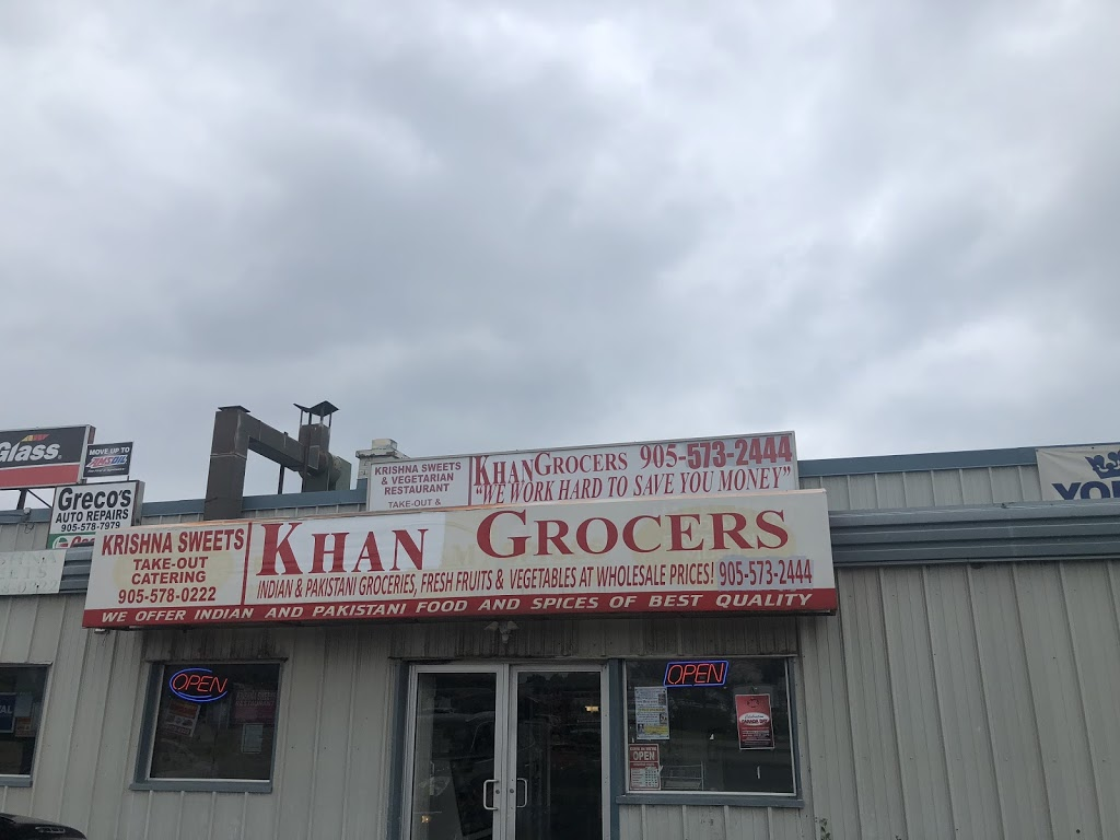 KHAN GROCERS | store | 2493 Barton St E #4, Hamilton, ON L8E 2X1, Canada | 9055732444 OR +1 905-573-2444