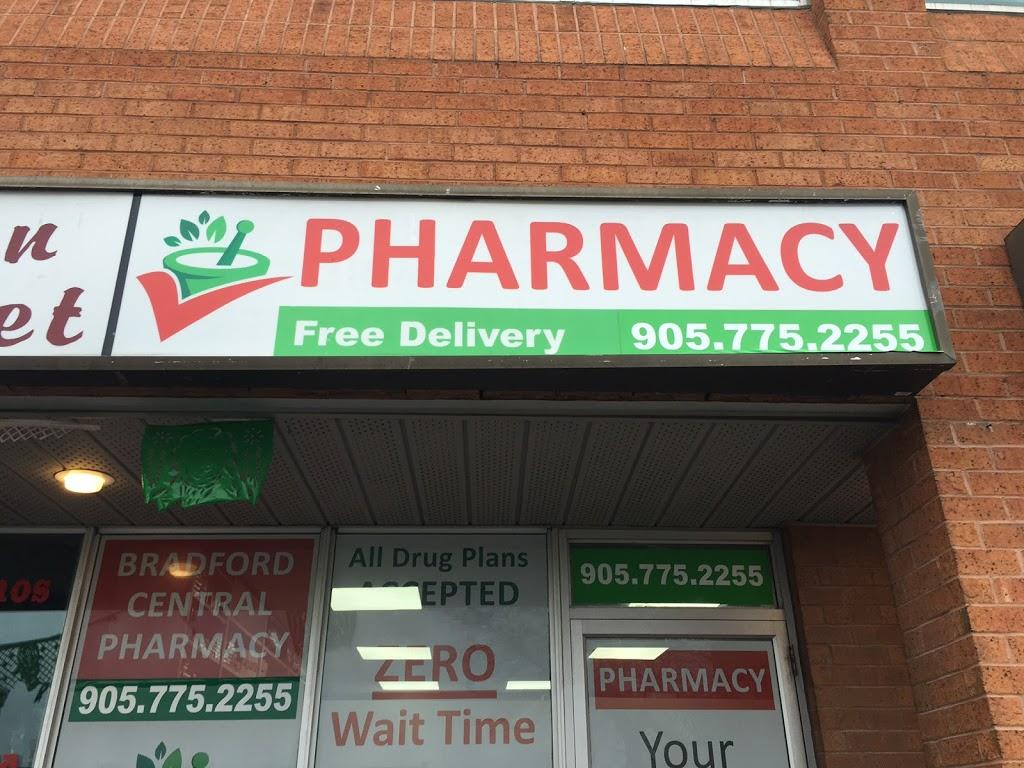 Bradford Central Pharmacy | health | P.O.Box: 1765, 107 Holland St E, Bradford, ON L3Z 2B9, Canada | 9057752255 OR +1 905-775-2255